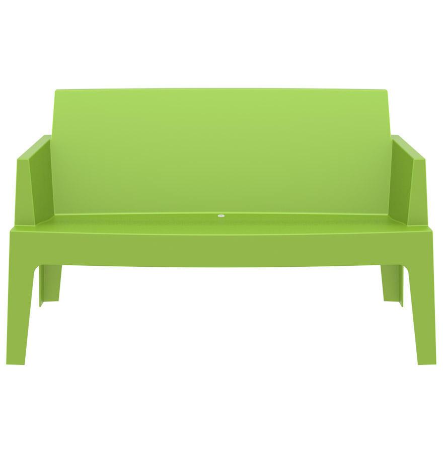 Plemo Xl - Banc De Jardin - Vert - Plastique - 139X60X80 Cm ... encequiconcerne Banc De Jardin Plastique