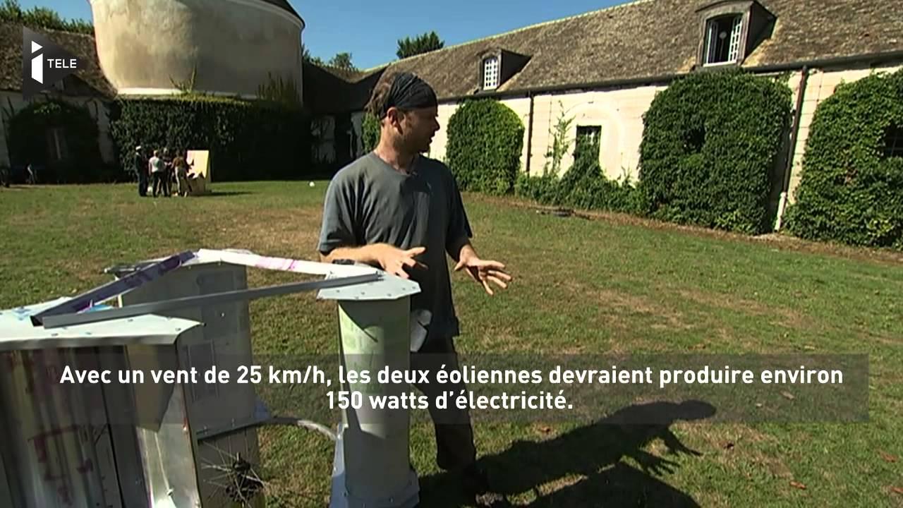 Poc21: Une Éolienne À Fabriquer Soi-Même Pour 30 Euros tout Petite Éolienne De Jardin