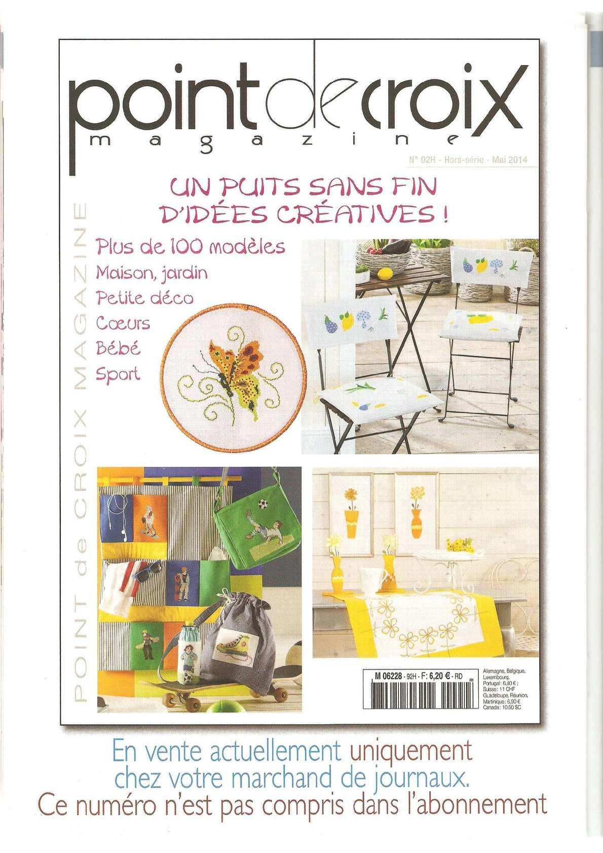 Point De Croix Magazine 2014 60 - Calameo Downloader concernant Maison Bebe Jardin