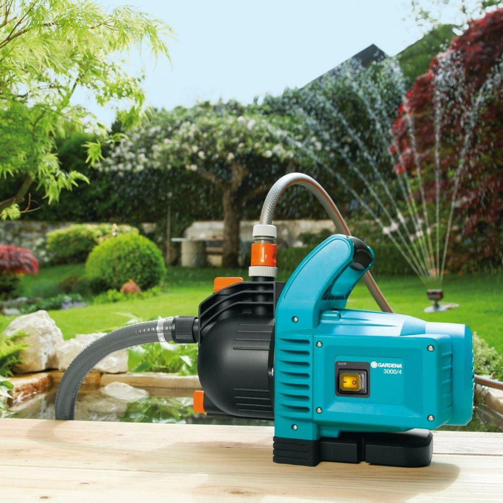 Pompe D'arrosage De Surface Gardena 3000/4 encequiconcerne Pompe Pour Arroser Le Jardin