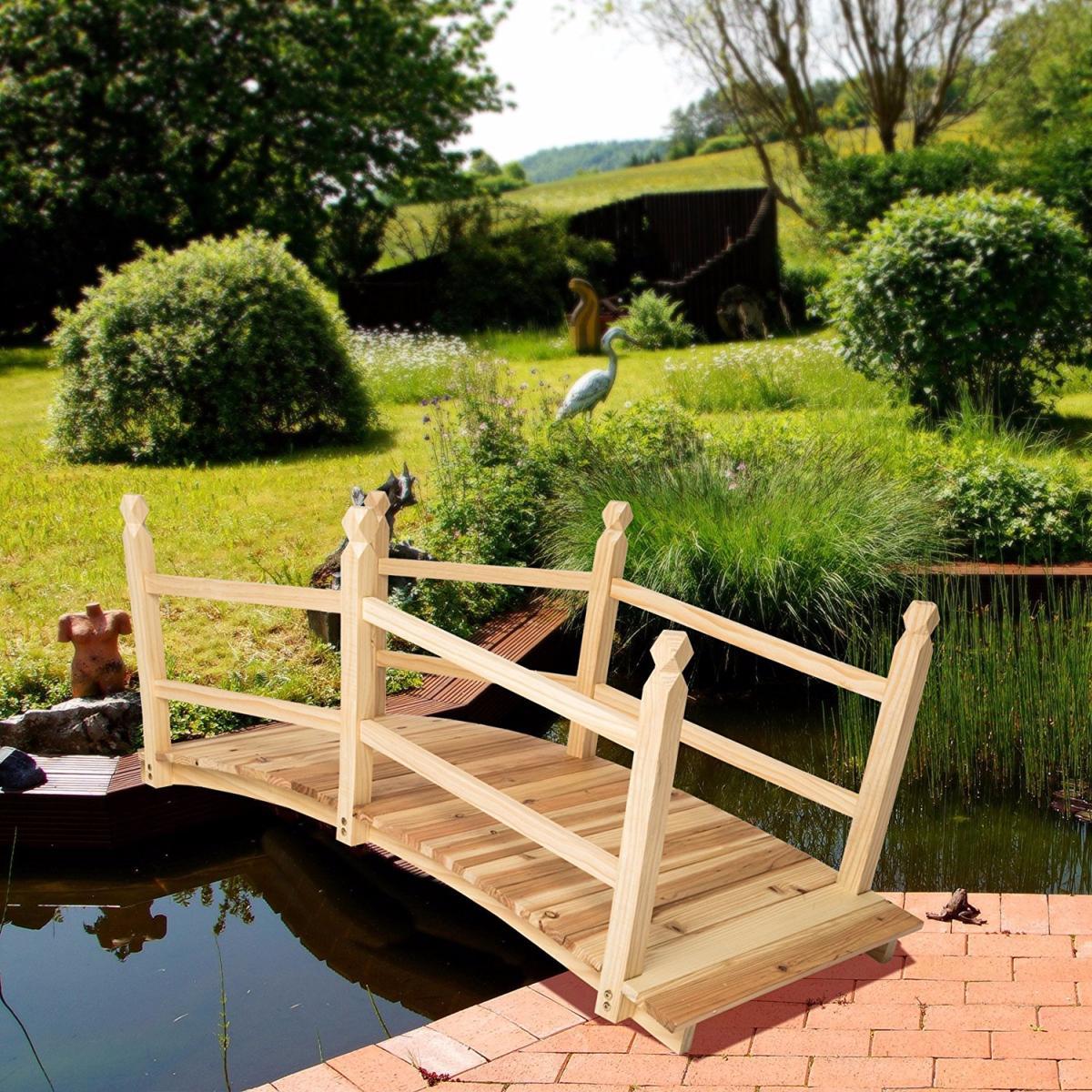 Pont De Jardin concernant Pont En Bois Pour Jardin