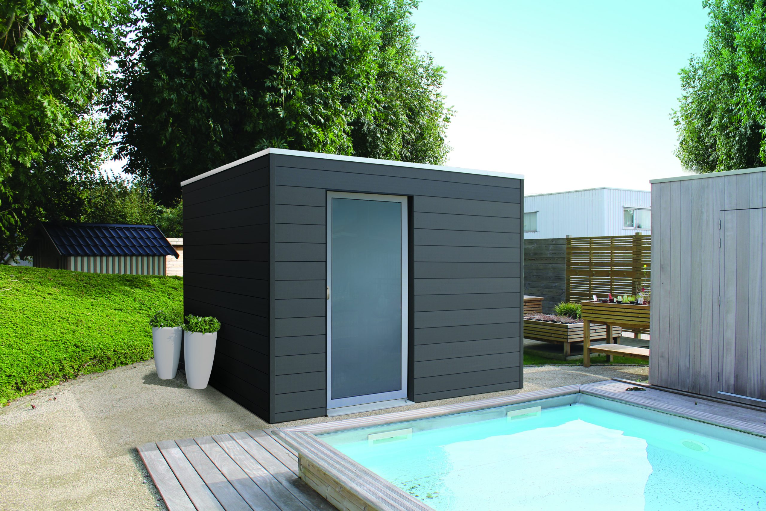 Poolhouse Sur Mesure À Namur Et En Brabant Wallon intérieur Abri De Jardin Belgique