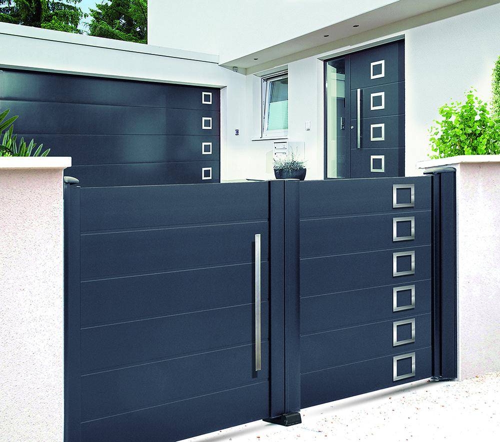 Portail Garage Coulissant Leroy Merlin - Portail concernant Portillon De Jardin D Occasion