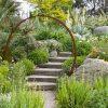 Porte De Lune En Acier Rouillé Diam. 1.9M pour Decoration De Jardin A Faire Soi Meme