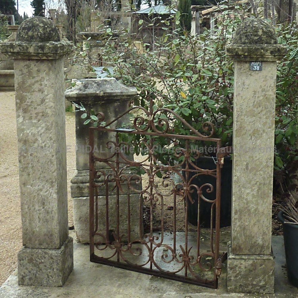Portillon Ancien Pour Petit Jardin - Beau Petit Portail En ... encequiconcerne Portillons De Jardin