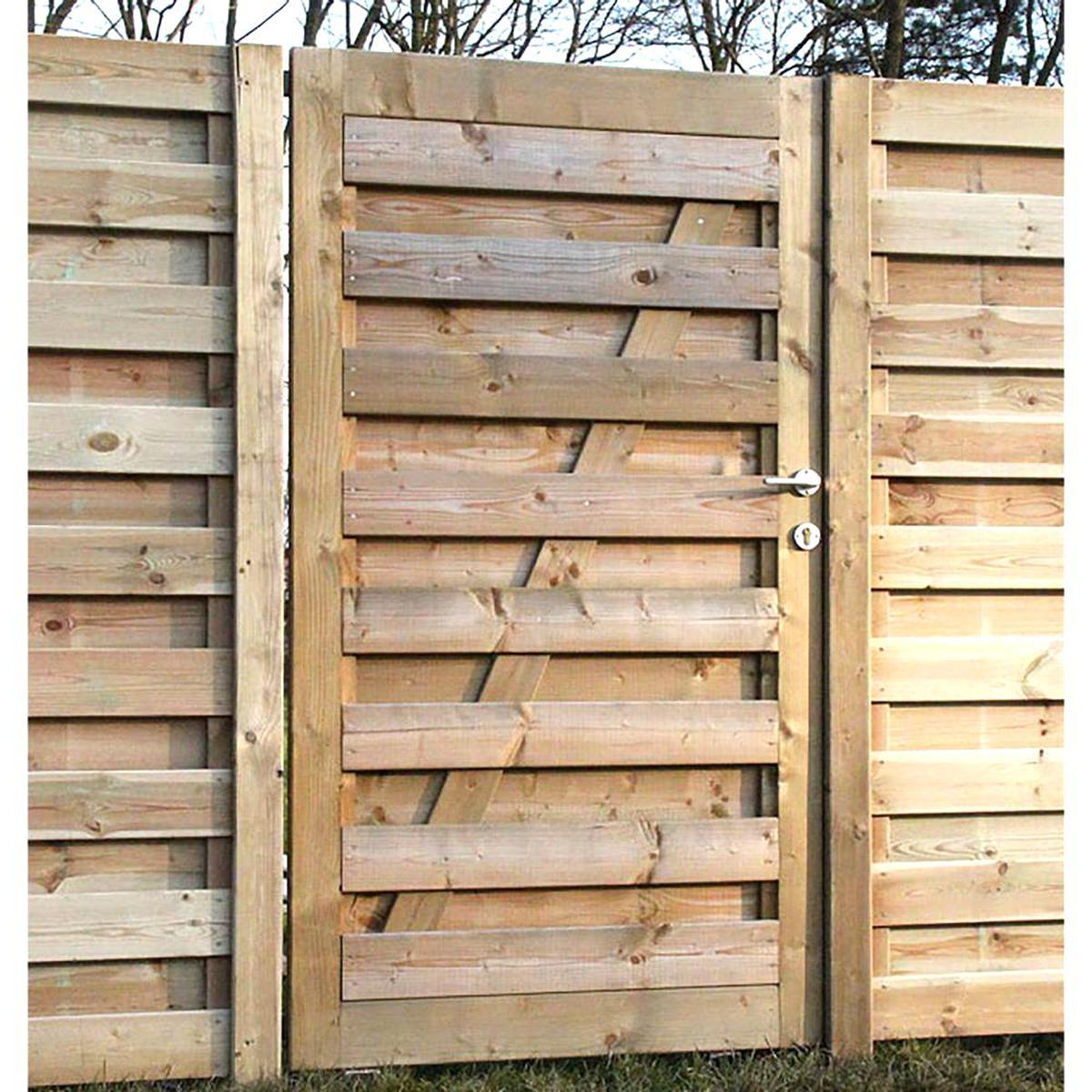 Portillon Bois D'occasion | Plus Que 2 À -60% encequiconcerne Portillon De Jardin D Occasion