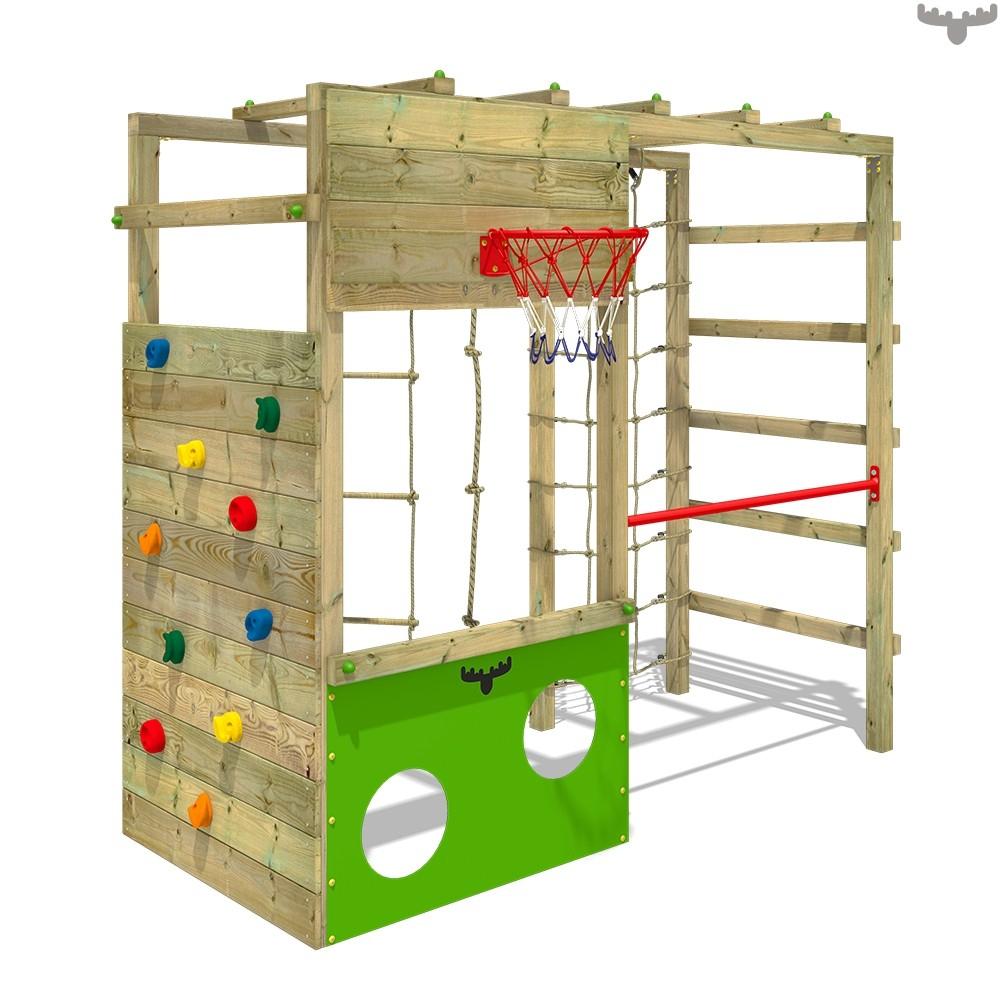 Portique D'Escalade Cleverclimber Club Xxl, Tour D'Escalade serapportantà Barre De Gymnastique Pour Jardin