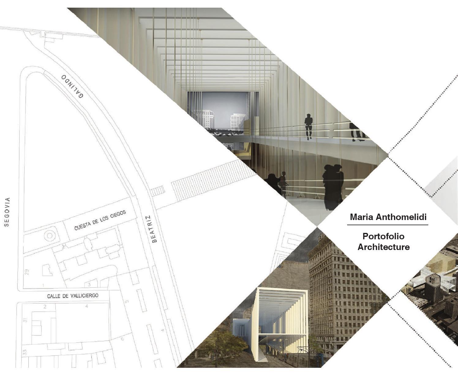 Portofolio Architecture By Maria - Issuu pour Vima Salon De Jardin
