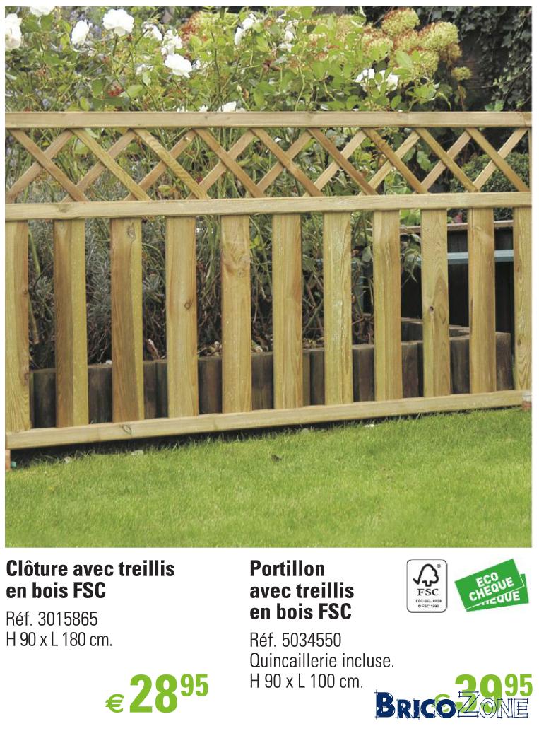 Pose Cloture En Bois intérieur Barriere Jardin Pour Chien