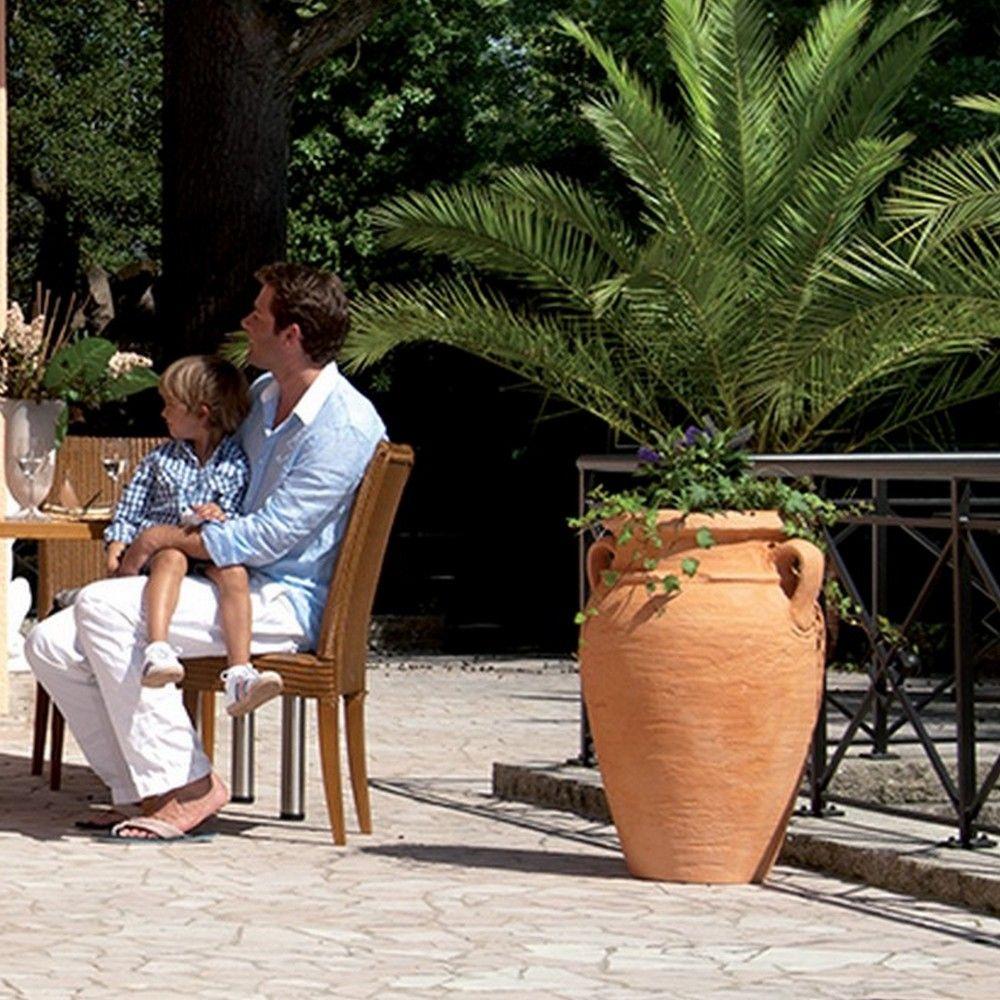 Pot Amphore Antik H80 Ø52 Cm Terracotta encequiconcerne Amphore De Jardin