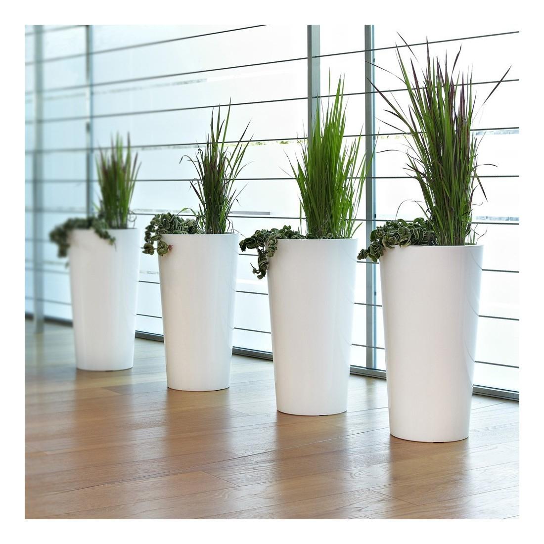 Pot Blanc Exterieur concernant Pot Deco Jardin Exterieur