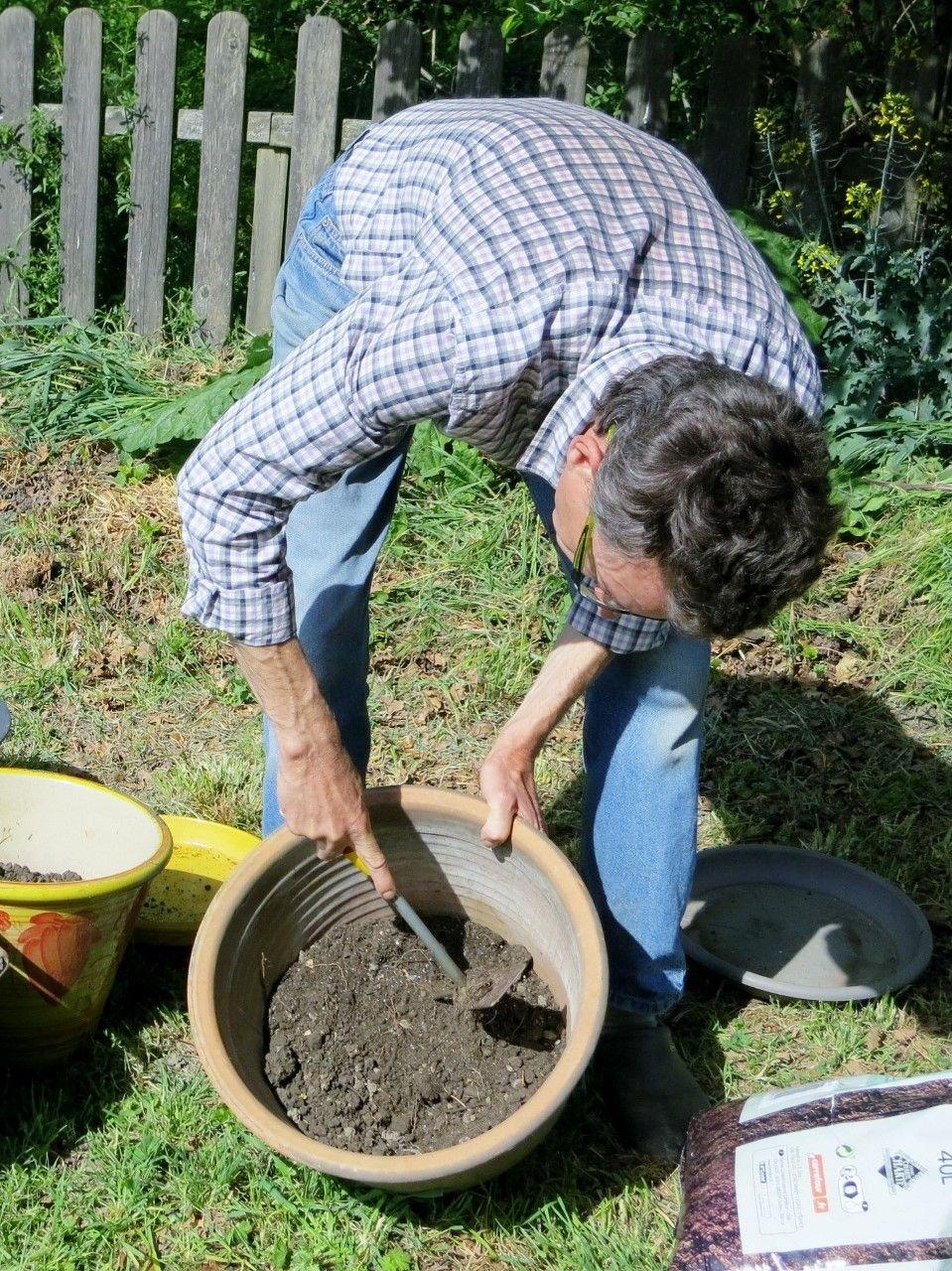 Pour Mélanger, J'utilise Une Petit Outil À Griffe | Culture ... dedans Griffe De Jardin