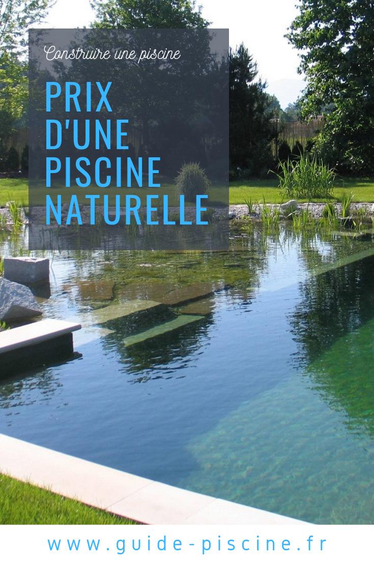 Prix D'une Piscine Naturelle   Piscine, Piscine Bassin Et ... encequiconcerne Prix D Un Bassin De Jardin