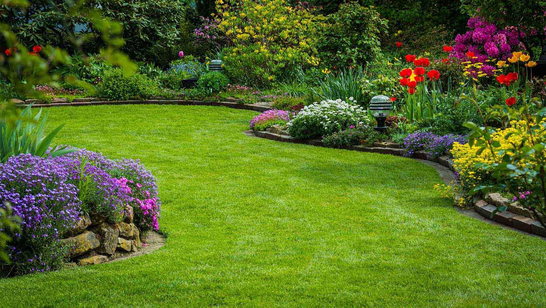 Prix Moyen Au M2 Pour La Création D'une Pelouse De Gazon Par ... intérieur Refaire Son Jardin Paysagiste