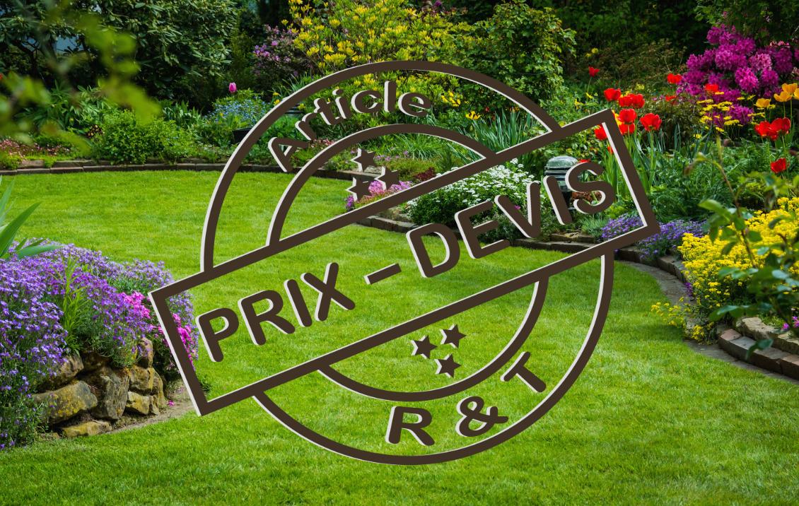 Prix Pour L'entretien D'un Jardin Et Exemple De Devis dedans Exemple D Aménagement De Jardin