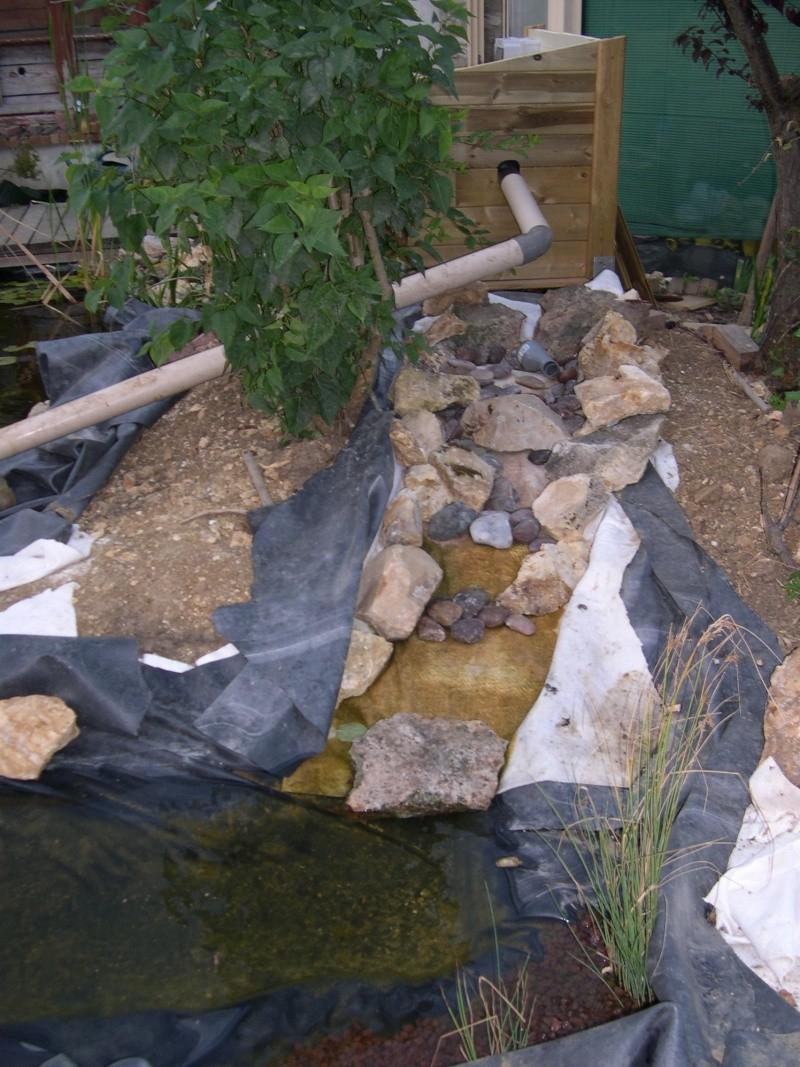 Problème De Conception De Cascade Et Ruisseau - Forum ... pour Creation Cascade Bassin Jardin