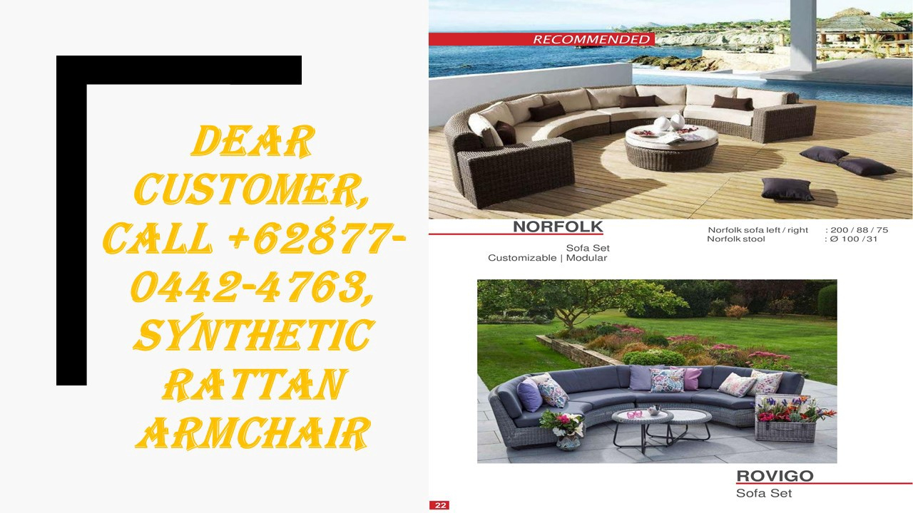 Produsen, Call +62877–0442–4763, Table Et Chaise De Jardin ... serapportantà Salon De Jardin Resine Tresse