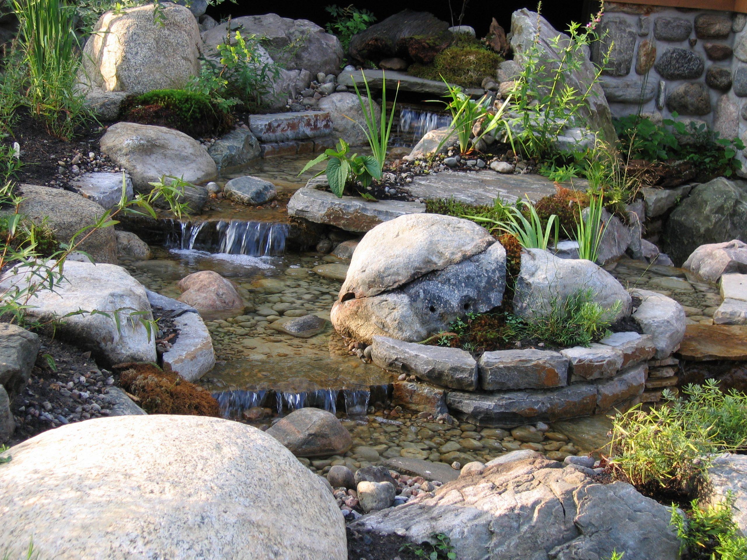 Projet Aménagement Paysager | Jardin D'eau | Maxhorti dedans Chute D Eau Bassin De Jardin