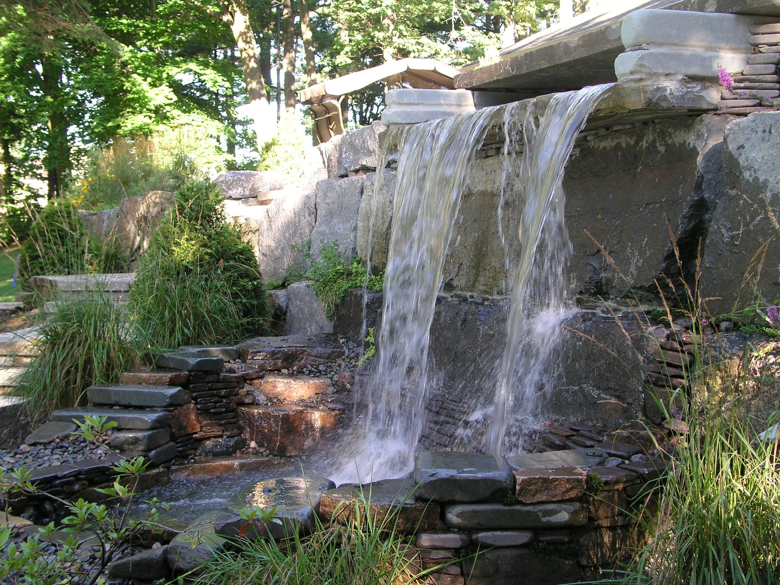 Projet Aménagement Paysager | Jardin D'eau | Maxhorti tout Chute D Eau Bassin De Jardin