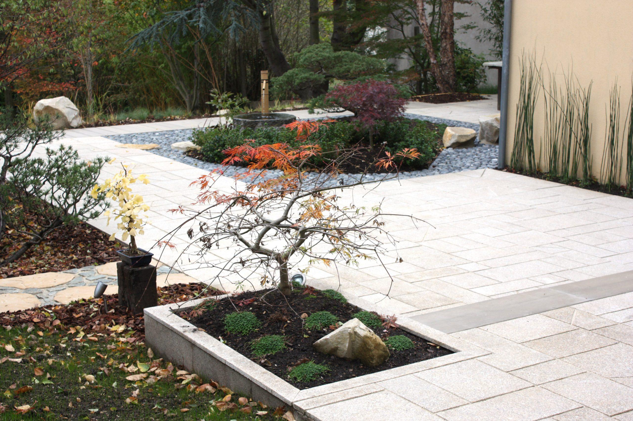 Projets De Jardins Et De Terrasses Japonaises | Jardins Du ... destiné Jardin Japonais Sur Terrasse
