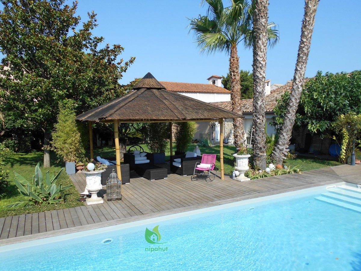 Promo] 88% Off Hotel Les Palmiers Sainte Maxime France Cheap ... tout Paillote Jardin