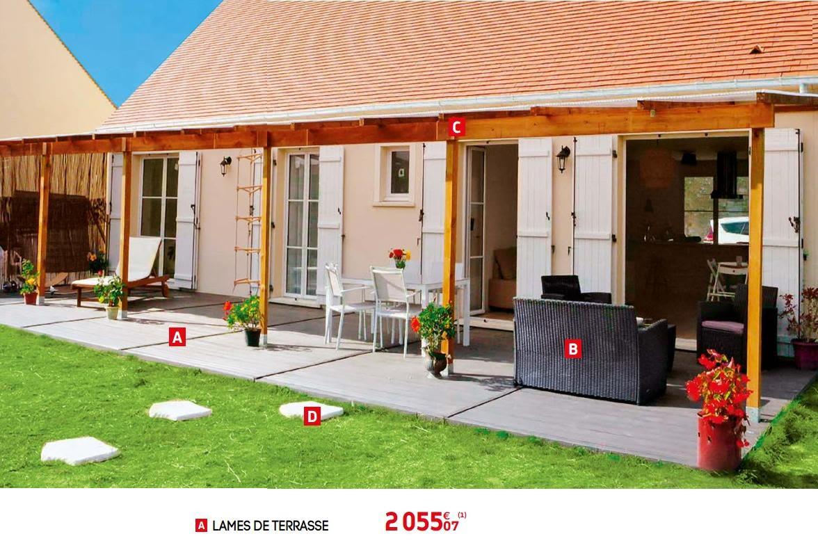 Promotion Brico Depot: Lames De Terrasse - Produit Maison ... dedans Dalle Jardin Brico Depot