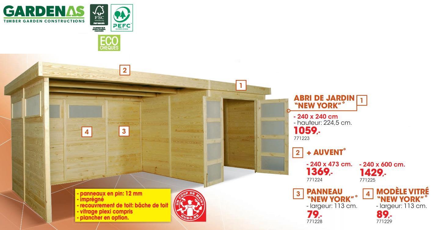 Promotion Hubo: Abris De Jardin En Pvc Manor 4 X 3 - Keter ... pour Abris Jardin Hubo