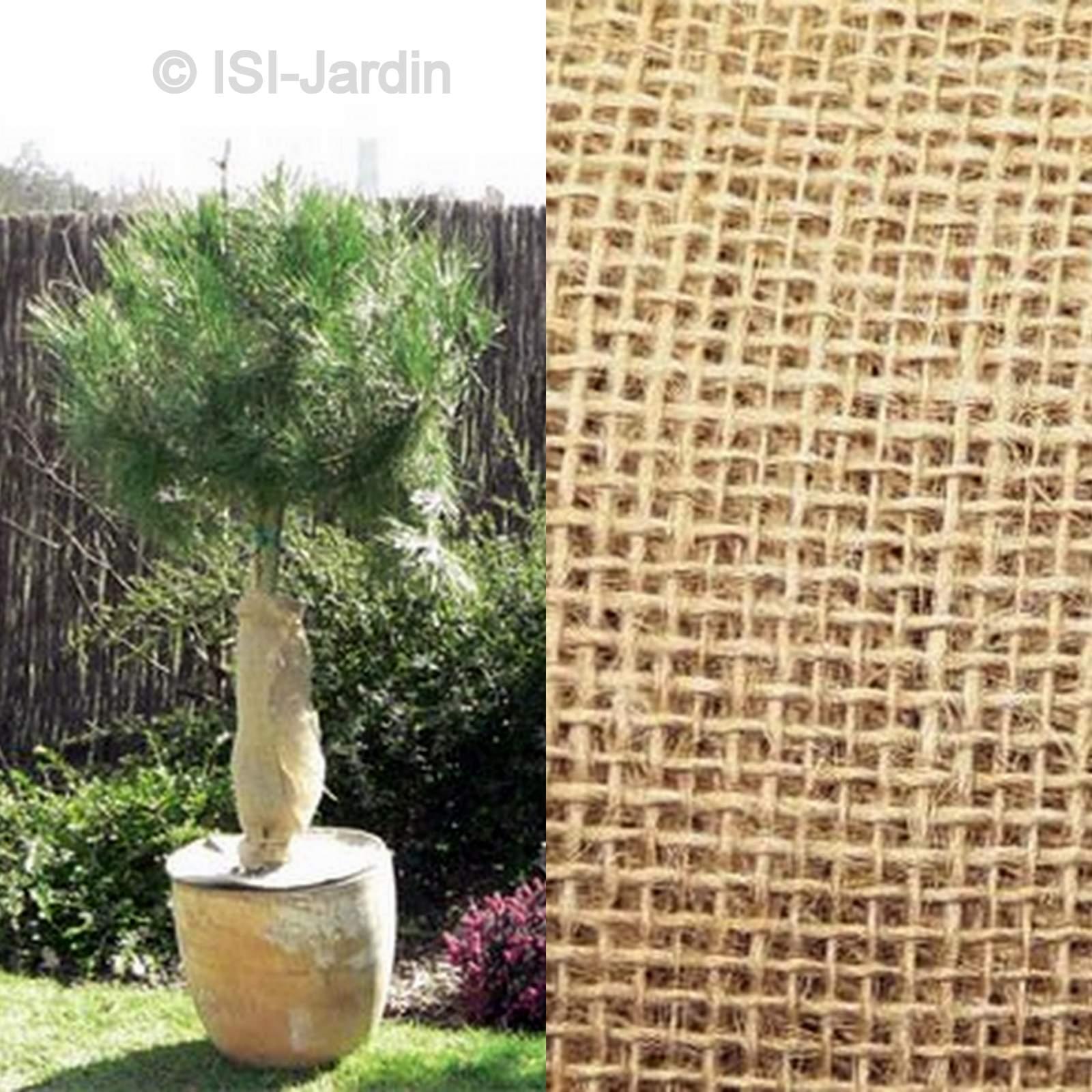 Protection En Toile De Jute 1 Mètre X 10 Mètres, 200 Grammes / M² destiné Toile De Jute Jardin