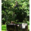 Puits Ancien Et Son Fer Forgé   Puits D'eau, Decoration ... avec Decoration De Jardin En Fer Forgé