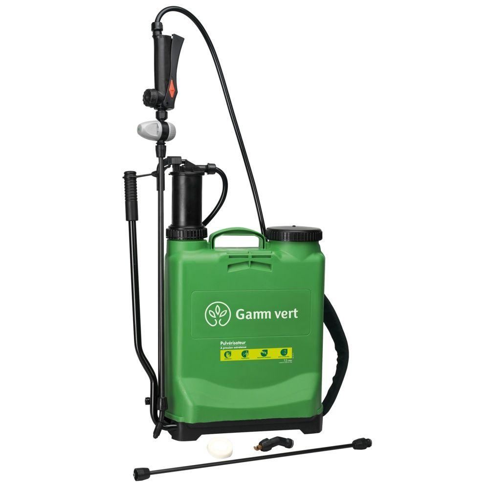 Pulvérisateur À Pression Entretenue - 12L - Gamm Vert intérieur Pulverisateur Jardin