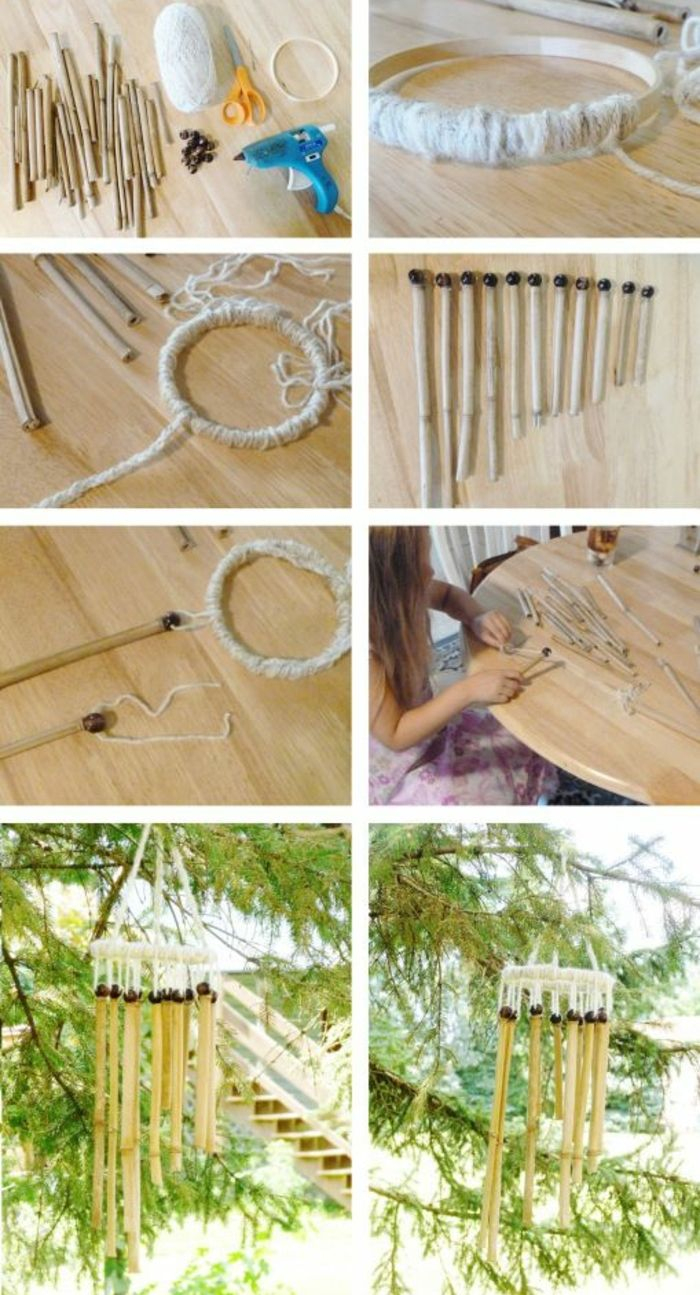 Que Faire Avec Des Bambous - Trouvailles Exotiques En 60 ... pour Carillon Bambou Jardin