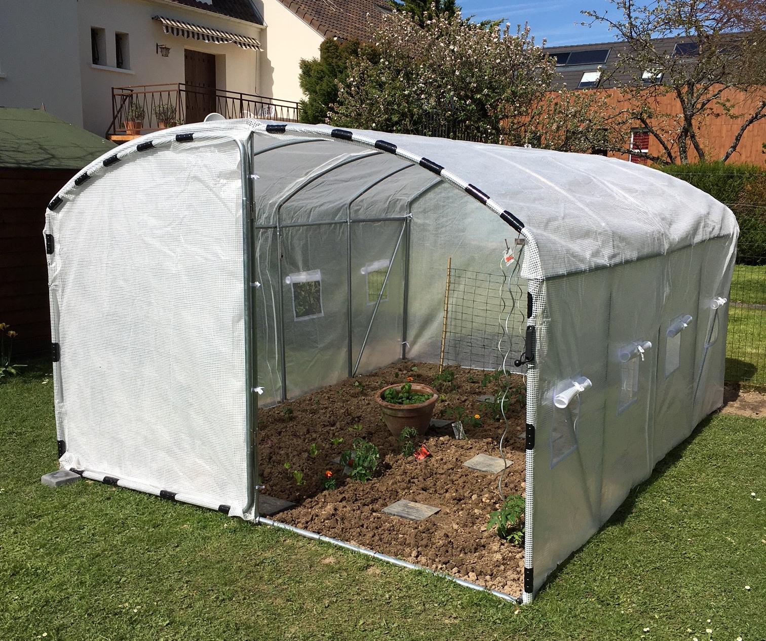 Quelle Bâche Choisir Pour Sa Serre De Jardin ? - France Serres dedans Bache Pour Serre De Jardin