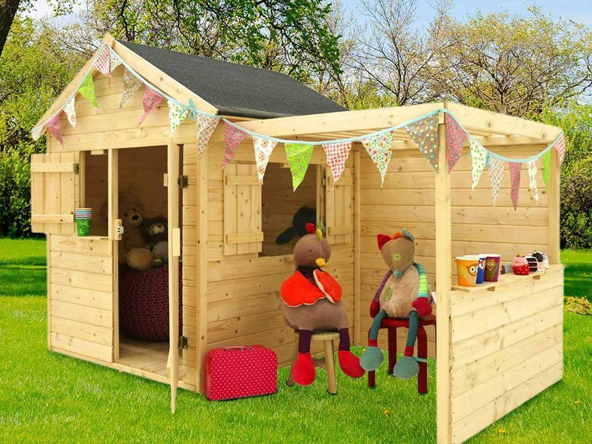 Quelle Cabane Enfant Choisir ? à Maison Jardin Bois Enfant