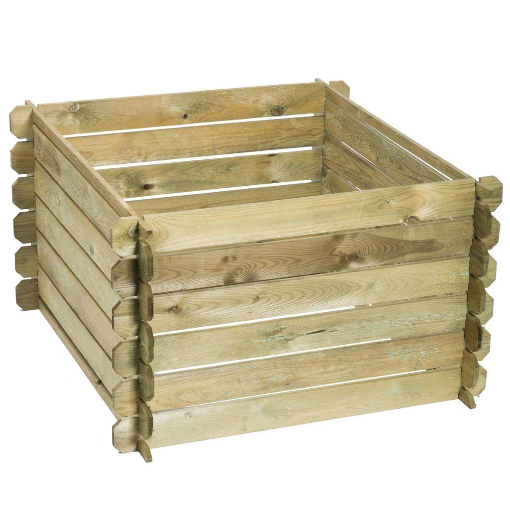 Quelle Est L'utilité D'un Composteur En Bois ? concernant Composteur De Jardin