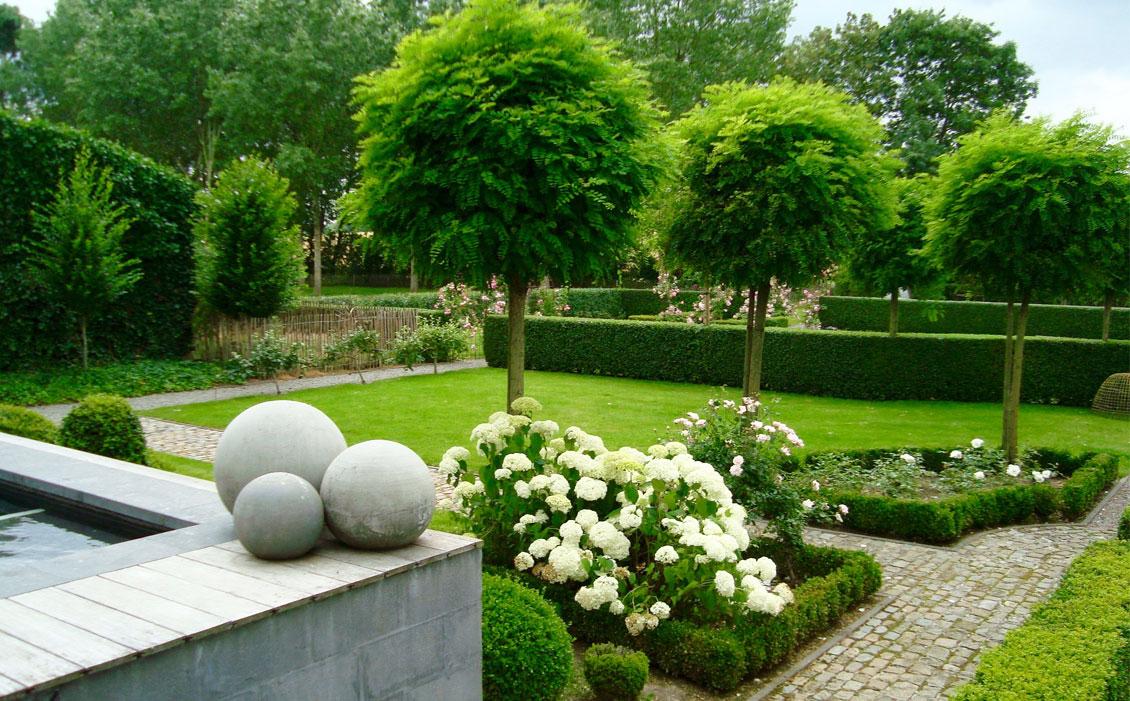 Quelques Astuces Pour Aménager Un Joli Jardin - Habitation ... pour Amenagement Jardin Belgique