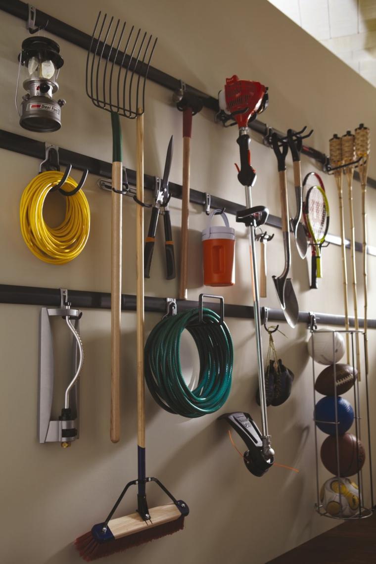 Range Outils De Jardin Et Organisation Du Garage serapportantà Range Outils De Jardin