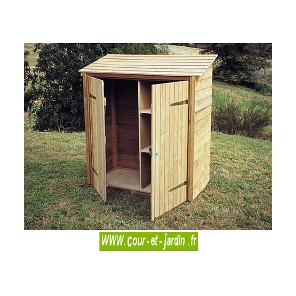 Range Outils Petit Modèle, Armoire De 120X60X140Cm - Cour Et ... intérieur Range Outils De Jardin