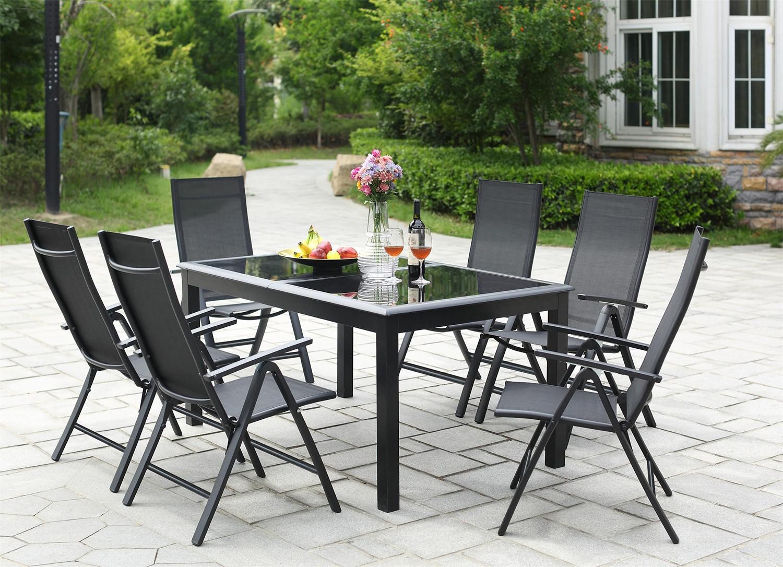 Ravenne 6 encequiconcerne Table Et Chaise De Jardin En Aluminium