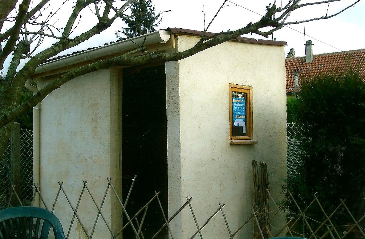 Réalisation Abris De Jardin En Dur - Artisan Roger Dufresne à Abris De Jardin En Dur