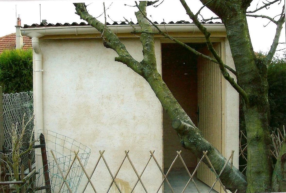 Réalisation Abris De Jardin En Dur - Artisan Roger Dufresne destiné Abris De Jardin En Dur