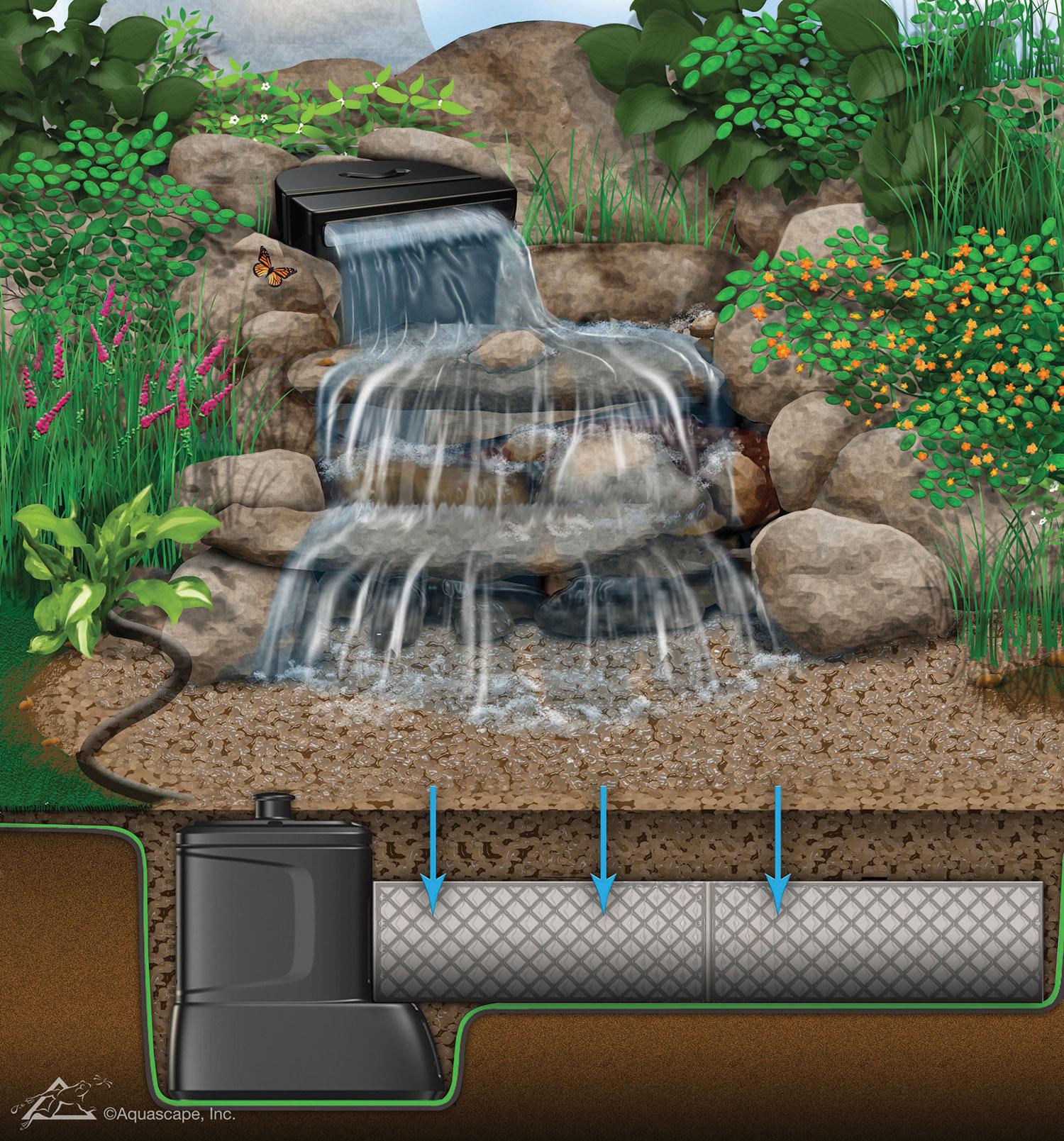 Réalisations - Jardins Aquadesign pour Prix D Un Bassin De Jardin