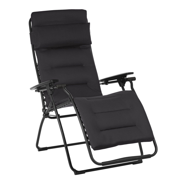 Relax De Jardin En Acier Futura Air Comfort Acier ... encequiconcerne Chaise Longue De Jardin Lafuma
