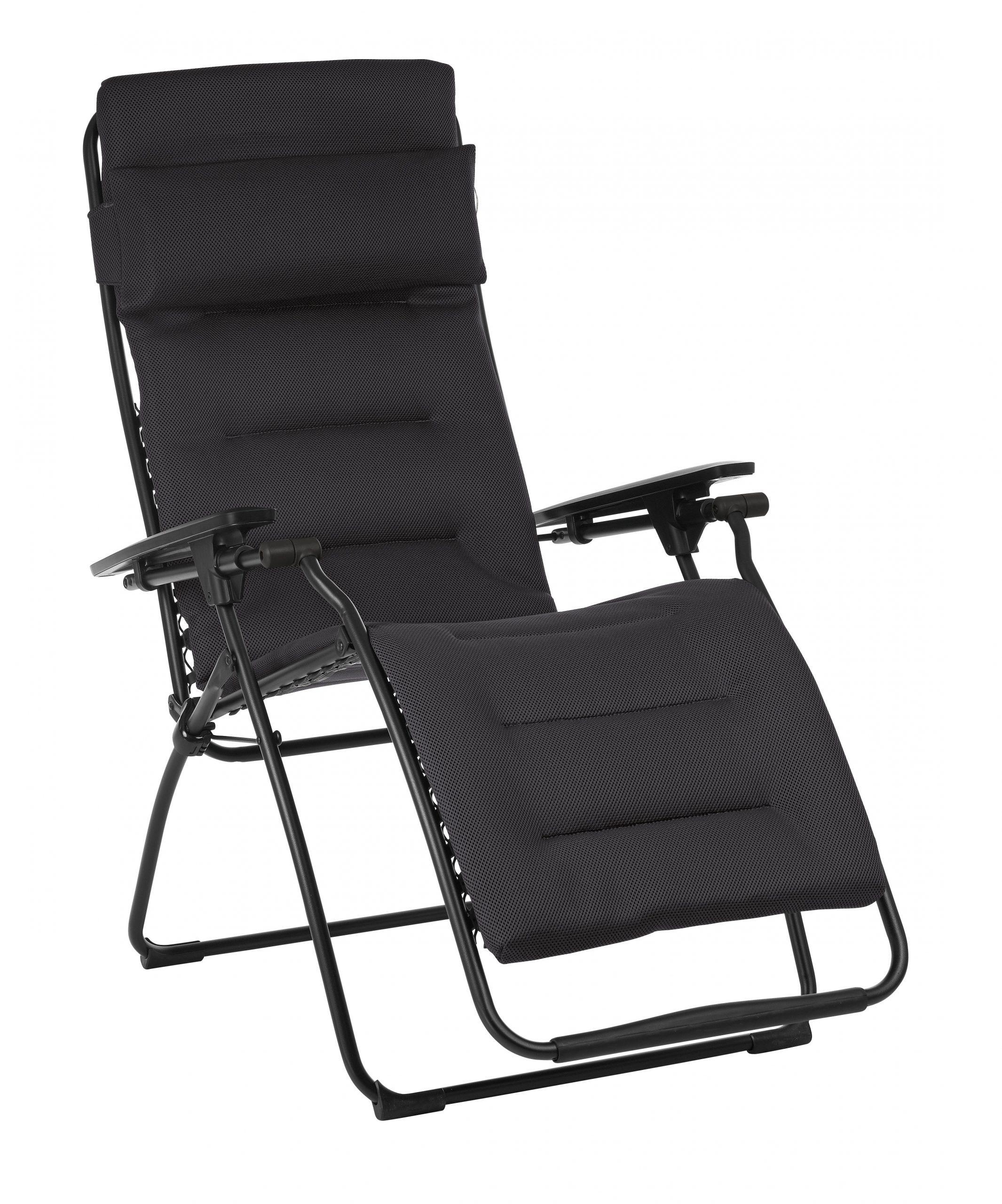 Relax De Jardin En Acier Futura Air Confort Acier destiné Balancelle De Jardin Leroy Merlin