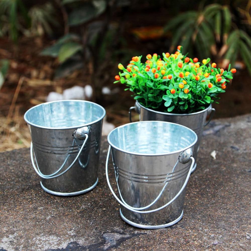 Renkli Küçük Plastik Çiçek Saksıları Bahçe Kare Küçük Saksı ... pour Pot Pvc Jardin