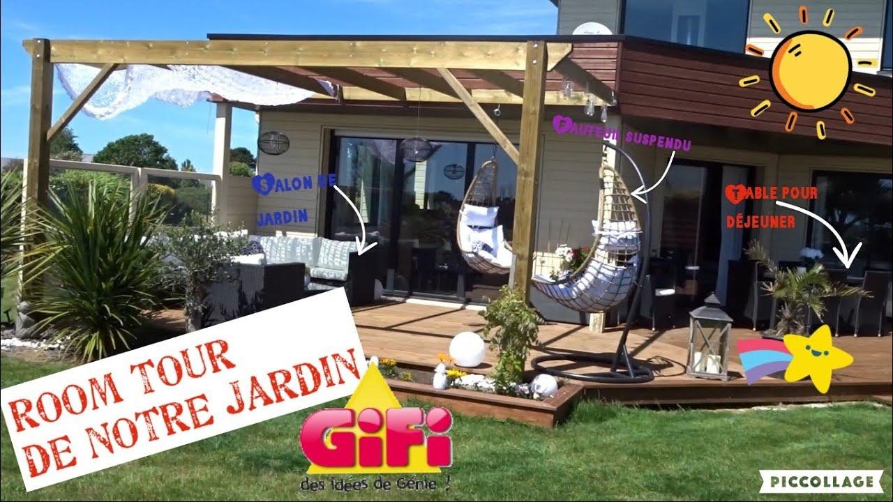 Repeat Room Tour Et Déco De Notre Jardin By Gifi By Les ... dedans Idée De Génie Jardin