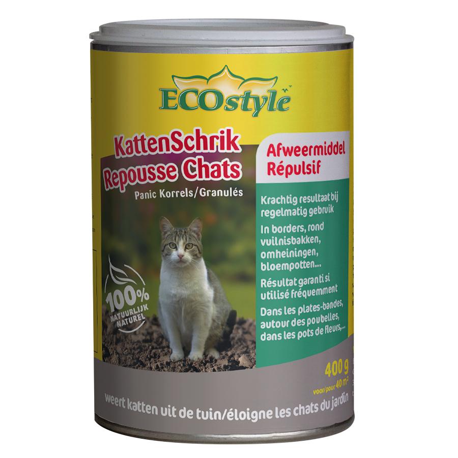 Repousse Chats Granulés Ecostyle intérieur Repulsif Chat Jardin Naturel