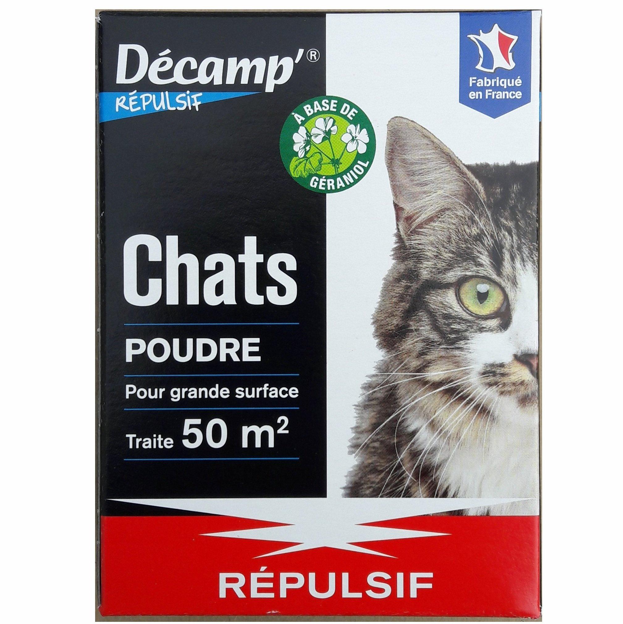 Répulsif Chat Poudre Décamp' 200 Grammes Pour 50 M² encequiconcerne Repulsif Chat Jardin