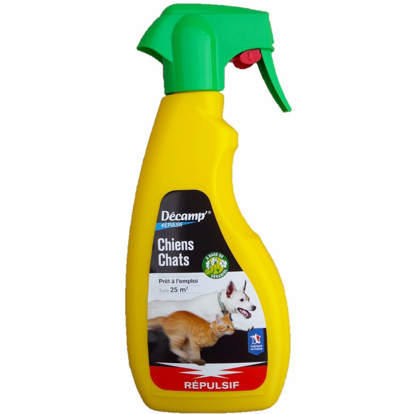 Répulsif Chiens Chats, Spray 500 Ml, Décamp destiné Repulsif Chat Jardin