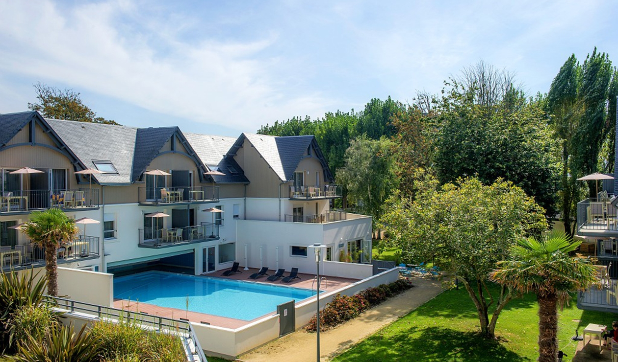 Résidence Vacances Bleues Les Jardins D'arvor | Bénodet, The ... avec Les Jardins D Arvor Benodet
