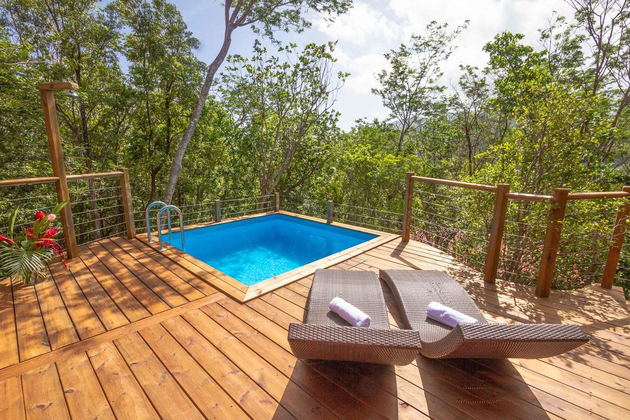 Resort Village Au Jardin Des Colibris, Deshaies, Guadeloupe ... destiné Au Jardin Des Colibris
